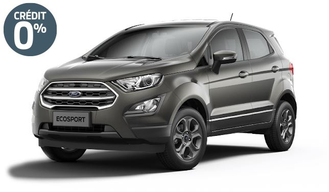 Ford ECOSPORT NG TREND 1.0L ESS 125CH BM6 4X2 Gris Magnetic