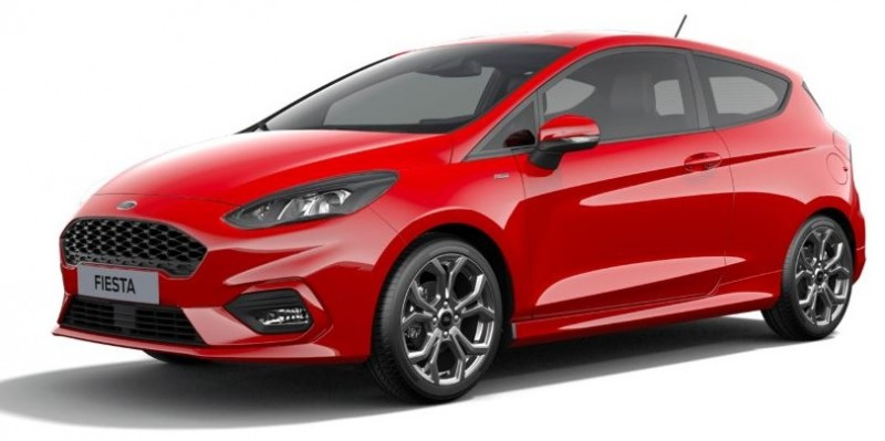 Ford FIESTA  NG 5P ST LINE 1.0 ESS 100CH BVA Rouge Racing